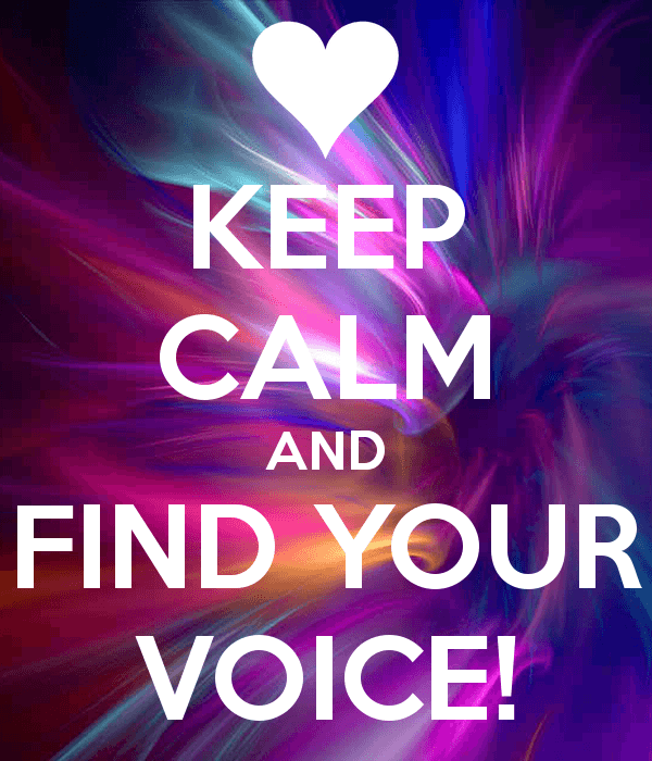 keep-calm-and-find-your-voice